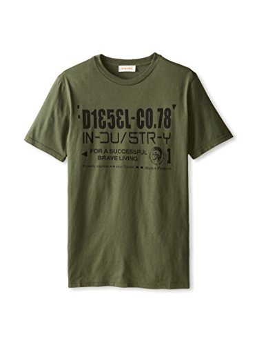 DIESEL Camiseta T-Nuck-R para hombre Les Verts 42