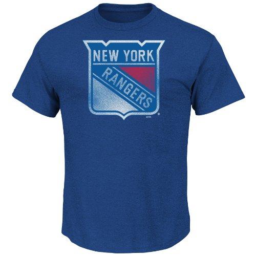 NHL Herren Big Time Play Pigment T-Shirt XL Deep Royal