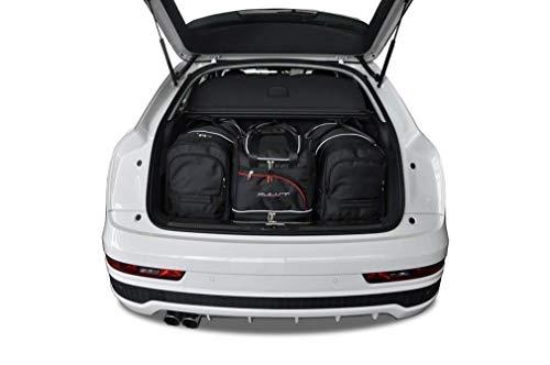 KJUST Dedizierte Reisetaschen 4 STK Set kompatibel mit Audi Q3 I 2011 - 2018