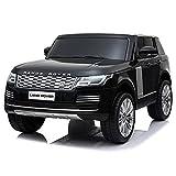 ATAA Land Rover Range Rover Sport 24v 2 plazas - Negro- Coche eléctrico para niños de batería 24v y Mando Control Remoto