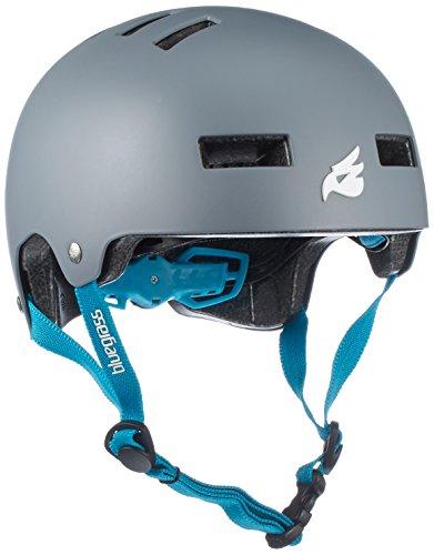 Bluegrass Helm Super Bold,Matt Grey/Cyan, 56-59 cm