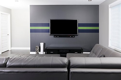 Removable Seattle Sports Wallpaper - Peel and Stick Paint - 23.5 inches Wide by 16 feet Long Roll (Seattle Sports)