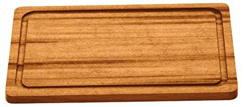 Tramontina 13071/920 - Tabla de Cortar Cuadrada con surco, Fabricada en Madera con estándar FSC