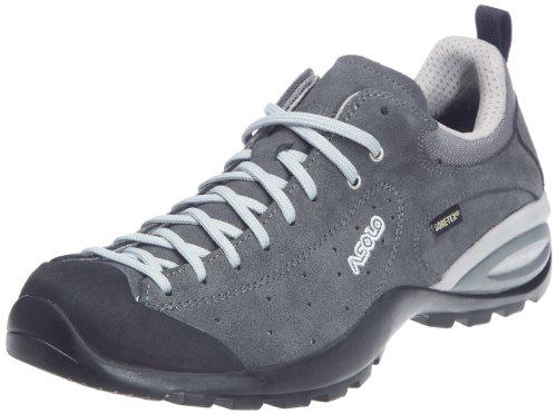 Asolo - Zapatillas de montaña de cuero para hombre, Gris, 46