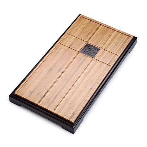 Check Out This Tea-For-One Sets Tea tray tea set Solid wood tea table Household tea sea Wujinshi sim...