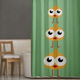 Right Canvas Green 180cm x 200cm Shower Curtain - RG138NPIC00045