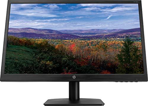HP 21.5 inch (54.6 cm) Full HD Anti Glare Surveillance Monitor - Wall Mountable with HDMI and VGA Ports, TN Panel, 60Hz- HP 22yh Display -2QU15AA (Black)