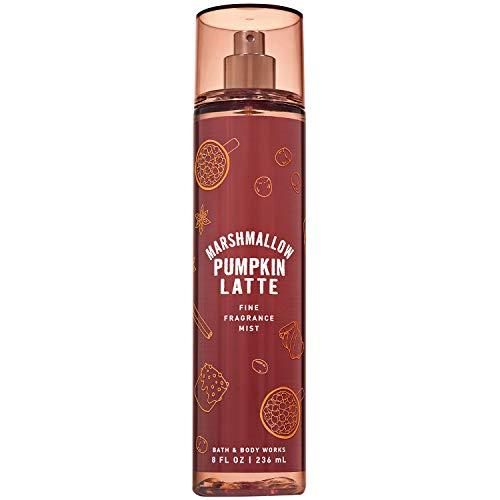 Bath and Body Works MARSHMALLOW PUMPKIN LATTE Fine Fragrance Mist 8 Fluid Ounce (2019 Edition)