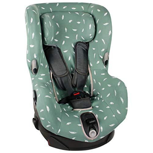 Bezug Maxi-Cosi Axiss Kindersitz Jade Federn Schweißabsorbierend und weich für Ihr Kind Schützt vor Verschleiß und Abnutzung Öko-Tex 100 Baumwolle
