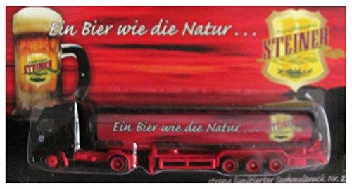 Steiner Privatbrauerei Nr.02 - Ein Bier wie die Natur .... - Volvo FH 16 - Sattelzug mit Tankauflieger