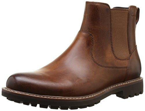 Clarks Montacute Top Herren Chelsea Boots, Braun
