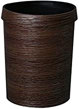JJZXD Round Small Trash Can Wastebasket, Garbage Container Bin for Bathrooms, Powder Rooms, Kitchens, Home Offices