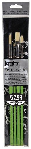 Liquitex Freestyle - Pack de 4 pinceles tradicionales