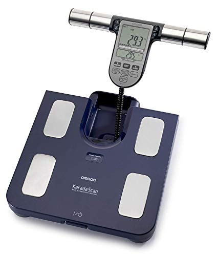 Omron Bf511 Body Composition and Body Fat Monitor Bathroom Scale - Dark Blue New Free Shipping Ship Worldwide Fast Shipping
