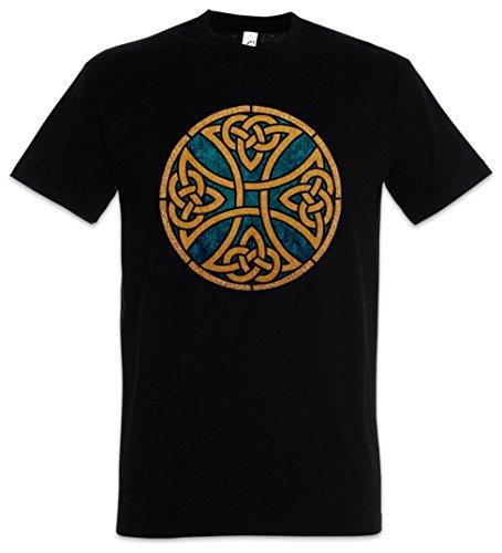 Urban Backwoods Celtic Knot Logo Sign VII Camiseta De Hombre T-Shirt Negro Talla 4XL