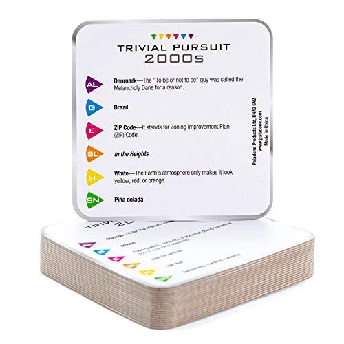 Paladone Trivial Pursuit Trivial Coaster Set 2020 Version