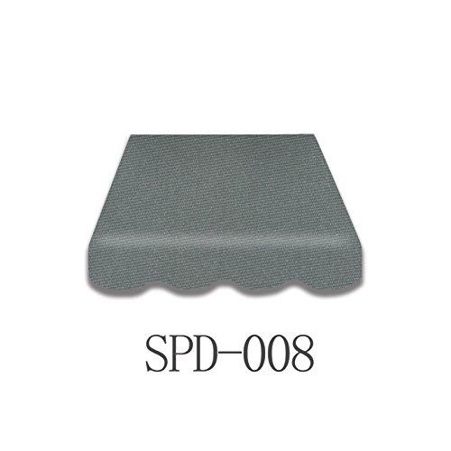 Vana deutschland GmbH Markisenstoff Markisenbespannung Ersatzstoff Plus Volant fertig Genäht 4x3m SPD008