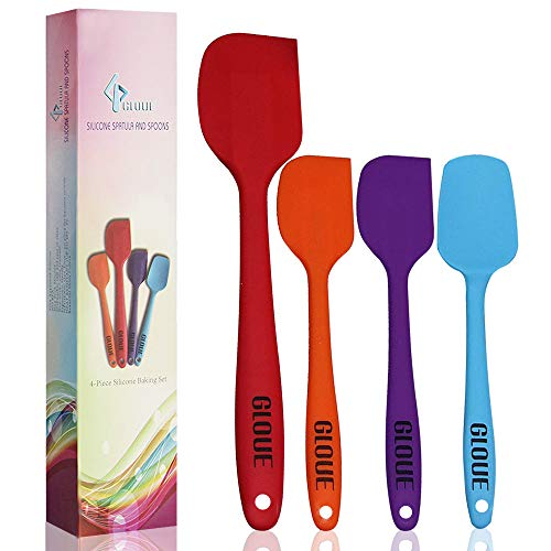 Heat-Resistant Baking Spoon & Spatulas - Dishwasher Safe