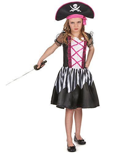 Déguisement pirate fille - 7 - 9 ans (M)