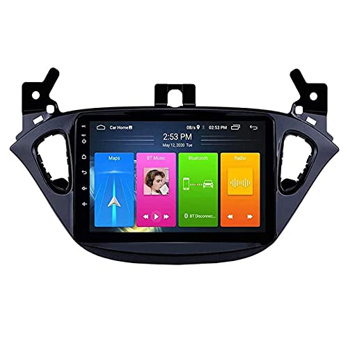 MISSLYY Auto Stereo Satellitare Navigatore per Opel Corsa 2015-2019, Autoradio unità Principale Stereo Touchscreen Multimediale Bluetooth Giocatore 9/10inch (4g+WiFi)