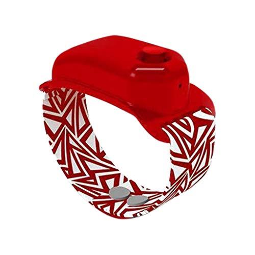 Jiekyoi 5Pcs Adult Kids Silicone Wristband Hand_Sanitizer Dispenser Pumps, Adjustable Fashion Portable Bracelet Watch Strap, Wearable Dispenser Wrist Band Refillable Liquid Bracelet 10Ml