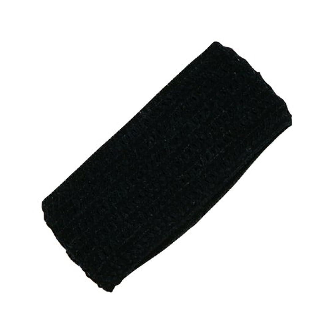 まあこねる反発するホテル業務用 幅広ヘアバンド(黒)バラ(袋なし)250個