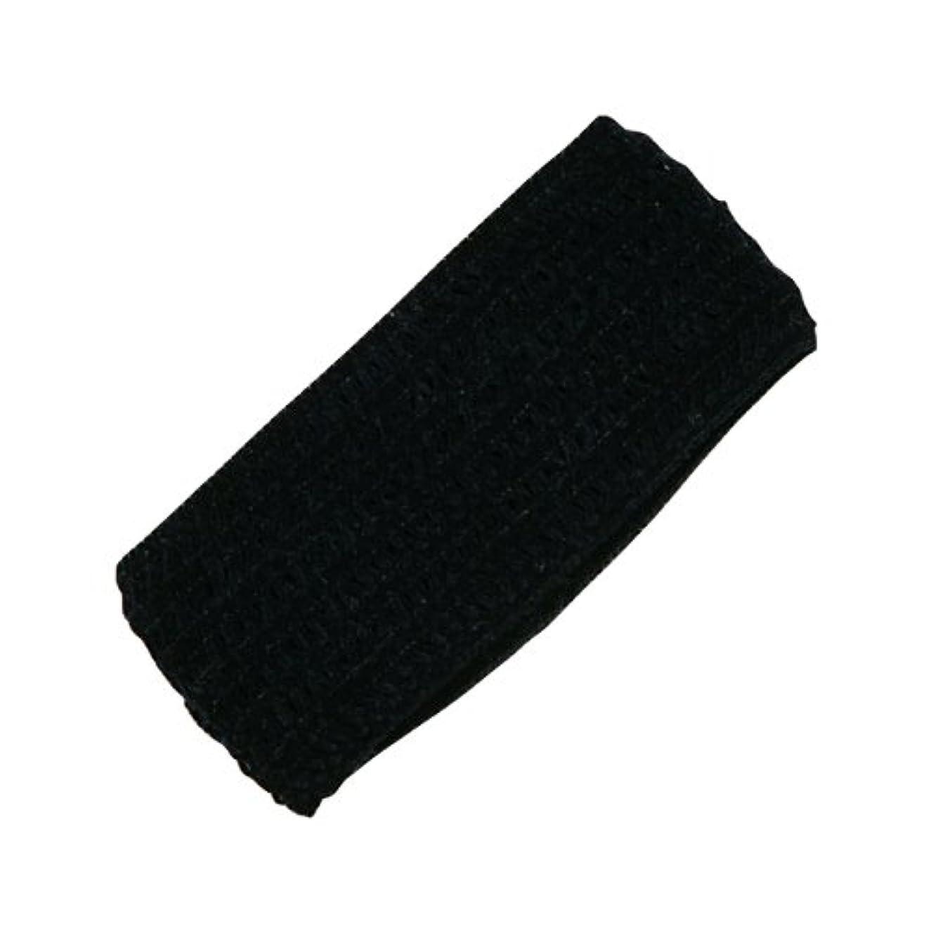 不運秀でる吹きさらしホテル業務用 幅広ヘアバンド(黒) OP袋 250個
