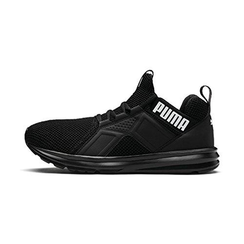 Puma ENZO Weave, Sneaker, Schwarz (Puma Black-Puma White 1), 42.5 EU (8.5 UK)