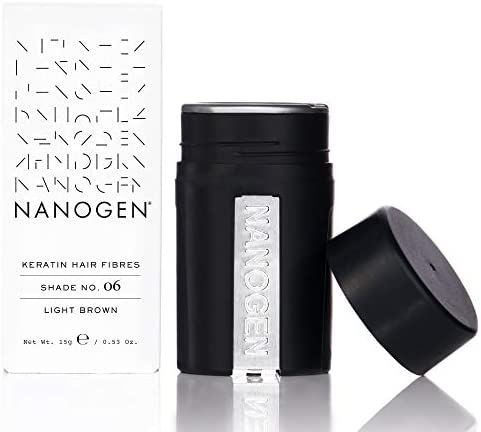 Nanogen Hair Thickening Keratin Fibres Light Brown product image