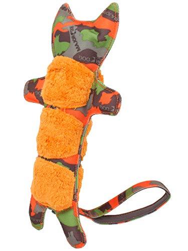 MAJOR DOG Jouet Tigre pour Dressage pour Chien Vert Camouflage/Orange 300 x 140 mm
