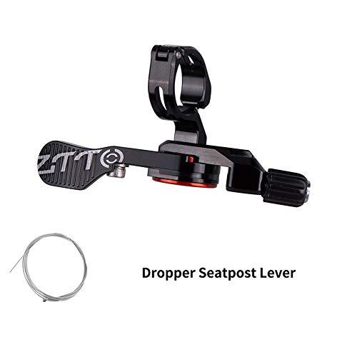 iYoung Fahrräder Dropper Dropper Post Remote Sattelstütze Remote Hebel Mit Sealed Bearing Bike Zubehör Für Outdoor Sport, Mountainbike Zubehör