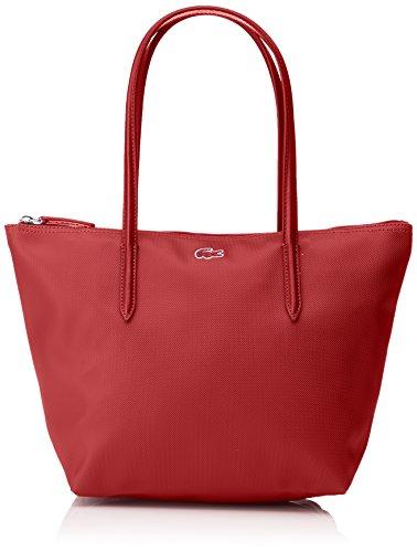 Lacoste NF2037PO L1212 Concept Bolso para Mujer, Color Rojo (Biking Red)