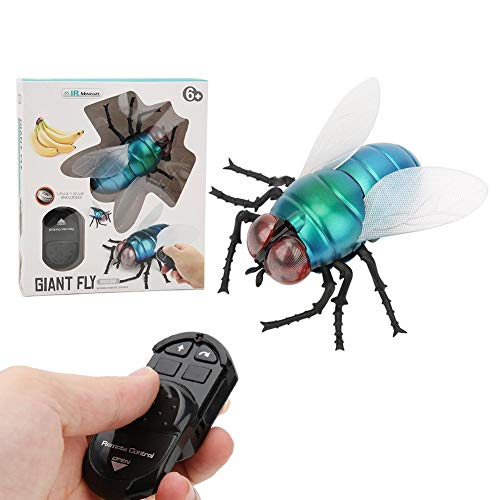 Juguete Volador de Control Remoto por Infrarrojos, Juguete Volador de simulación de Insectos Juguetes de Animales realistas Juguetes de Truco o Trato para niños Regalos de Fiesta o Navidad