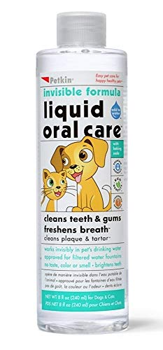 3Xinvisible Formula Liquid Oral Care Teeth, Dental Gums Fresh Brath Dogs and Cats