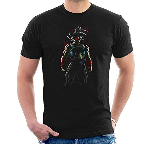 Cloud City 7 Bardock Paint Splatter Dragon Ball Z Men's T-Shirt