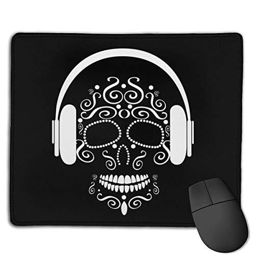 Mousepad Skull Vector Hoofdtelefoon Beats Ornament Mousepad Bestand met Anti Slip Rubber