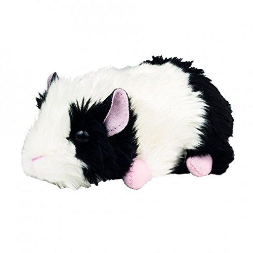 Teddy Hermann 926504 Meerschweinchen Plüsch, Schwarz/weiß, 15 cm