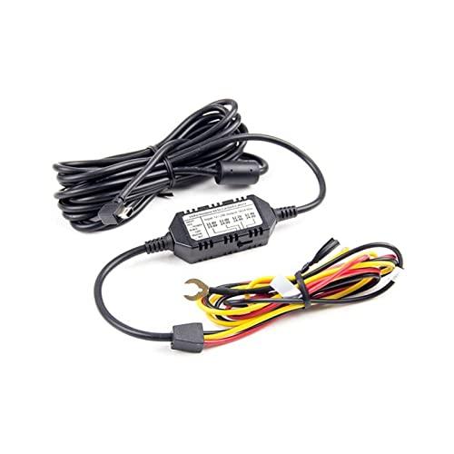 FUSHUN XIAOBAILONG Cavo Hardwire Cavo 3 Filo Acc. t Mini USB Adatto for VIOOFO. A119 V3 A129. Duo Ir. Dash Camera Car. DVR. Recorder Parking Mode HK3