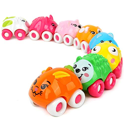 Lihgfw Magnetic Mini Animal Fleet Children's Educatief speelgoed Inertia speelgoed auto 1-3 jaar oude baby baby Car