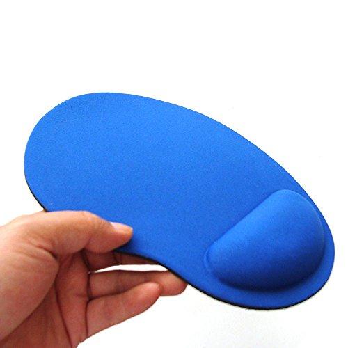 tappetino per mouse Tappetino Per Mouse In Tinta Unita Con Cinturino In Eva Tappetino Per Mouse Confortevole Per Computer Portatile Da Gioco