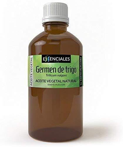 Essenciales - Aceite Vegetal de Germen de Trigo, 100% Natural, 30 ml...