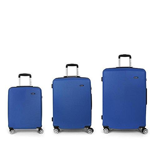 Set 3 Maletas C22-M-L Gabol Mondrian Azul