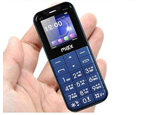 Anik Mixx M1 Finger Bluetooth Phone, Dual Sim, Slim Card Size Phone with 1.44 inch Display (Mini)