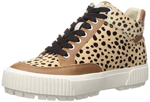 Dolce Vita Women's Rose Sneaker, Leopard Calf Hair, 9.5 M US