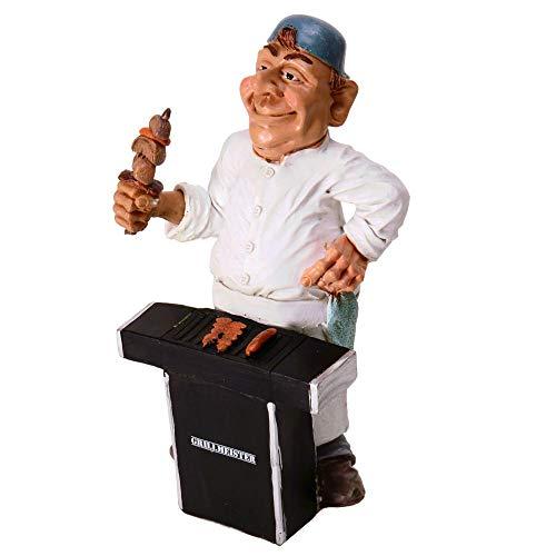 trendaffe Grillmeister Spardose - King of The Grill Sparbüchse Sparschwein BBQ Chef