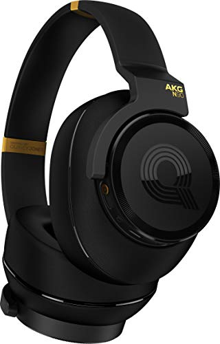 AKG N90Q Reference Class Auto-Calibrating Noise Cancelling Headphones - Black