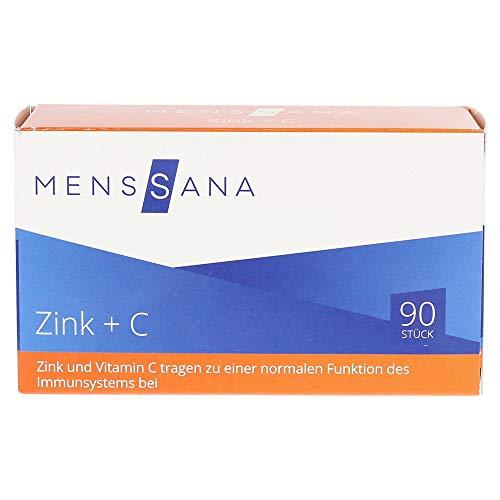 MensSana Zink + C Lutschtabletten, 90 st. Tabletten