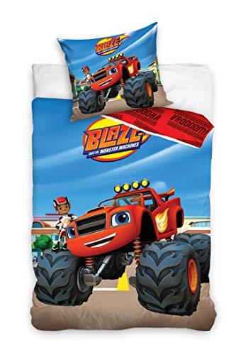 Babybettwäsche Blaze und die Monster Maschinen 100x135+40x60 Baumwolle