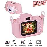 Kids Camera for Girls, SEIEUS Digital Dual Camera, 2' IPS Screen HD 1080P Shockproof Children Video Camera Camcorder for...