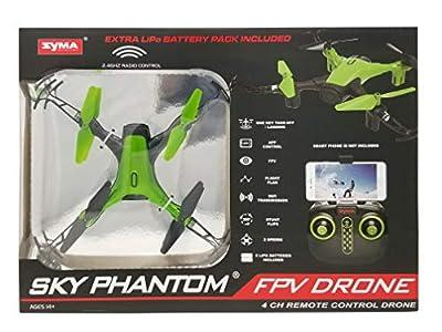 SKY PHANTOM B07H4ZCHRN FPV Drone 4CH Remote Control Green 14